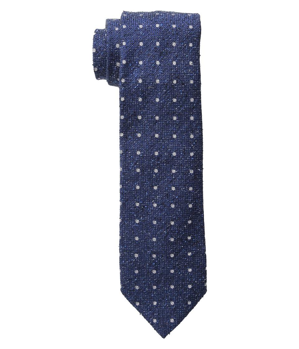 Etro 120263600 Blue Pindot Ties