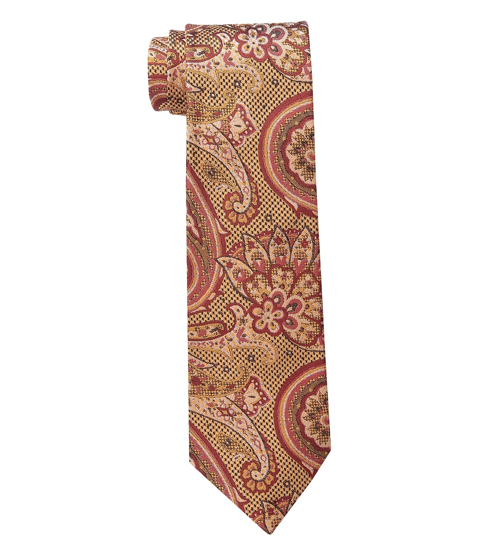 Etro 120263116 Red Paisley Ties