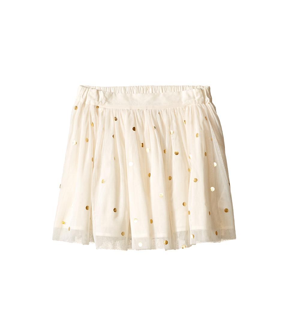 Stella McCartney Kids Honey Polka Dot Tulle Skirt Toddler/Little Kids/Big Kids Cream Girls Skirt