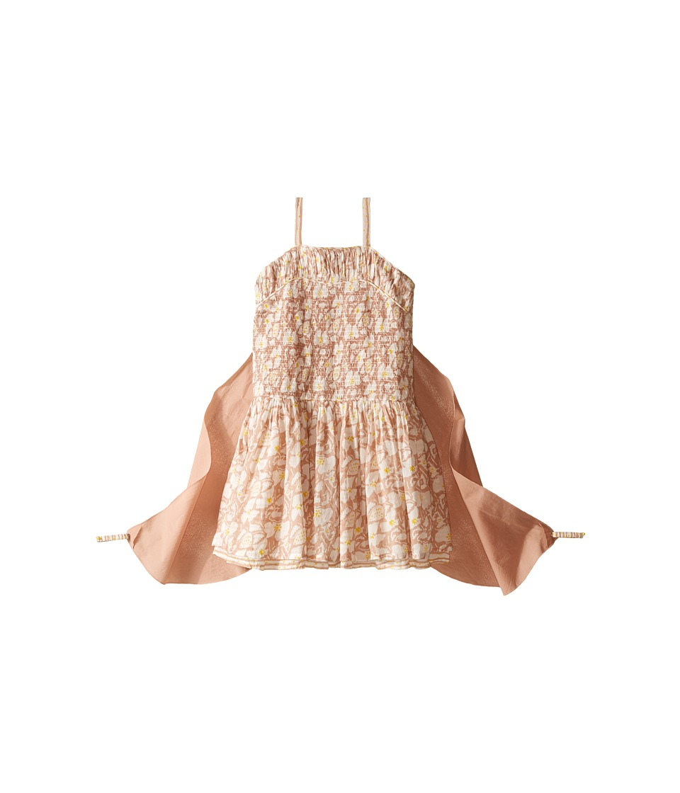 Stella McCartney Kids Bonny Floral Dress with Detachable Wings Toddler/Little Kids/Big Kids Pink Girls Dress