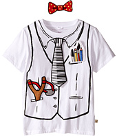 Stella McCartney Kids - Arlo Short Sleeve Hook-and-Loop Doctor Tee with Badges (Toddler/Little Kids/Big Kids)