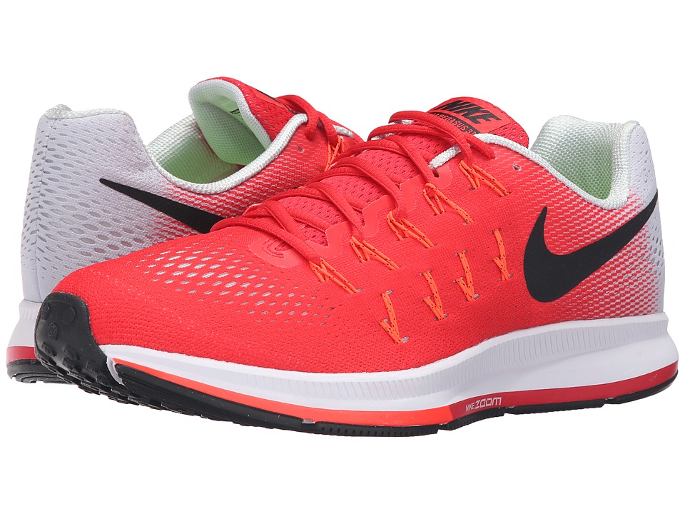 Nike - Air Zoom Pegasus 33 (Action Red/Black/Platinum/Total Crimson) Men