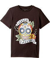 Stella McCartney Kids - Arlo Short Sleeve Stella Skull Tee (Toddler/Little Kids/Big Kids)