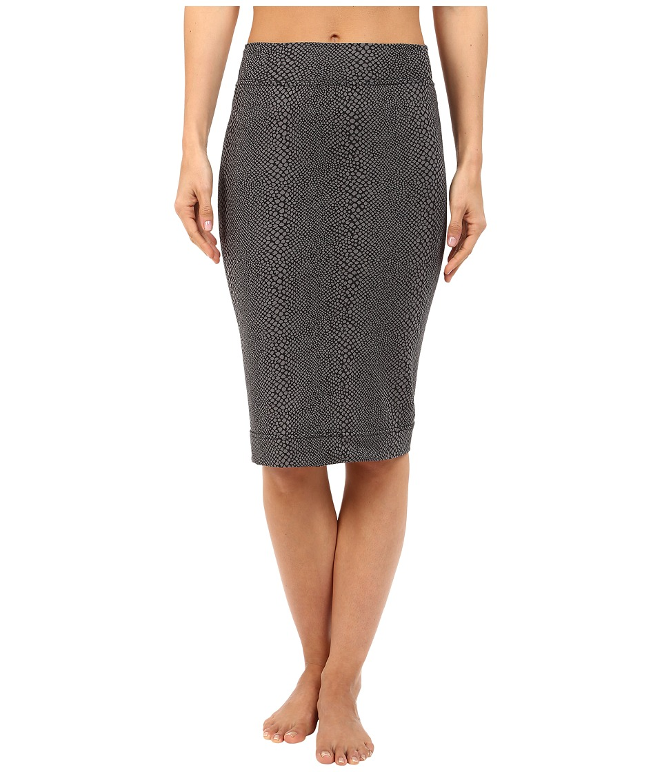 Hard Tail Pencil Skirt Gray Womens Skirt