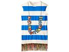 Stella McCartney Kids - Gray Striped Lei Dress w/ Fringe Bottom (Toddler/Little Kids/Big Kids)