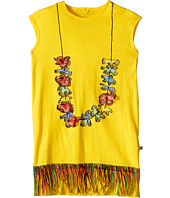 Stella McCartney Kids - Gray Lei Dress w/ Fringe Bottom (Toddler/Little Kids/Big Kids)