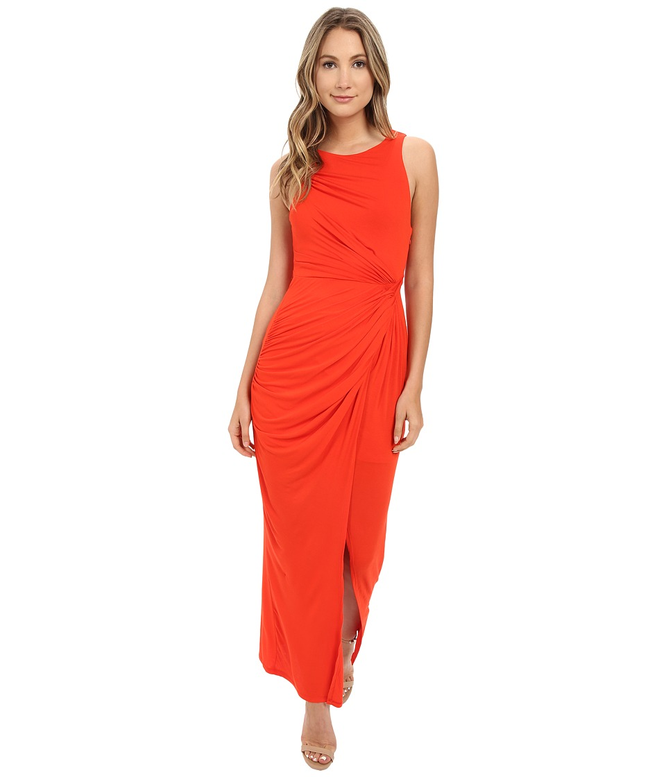StyleStalker Harlem Maxi Persimmon Womens Dress