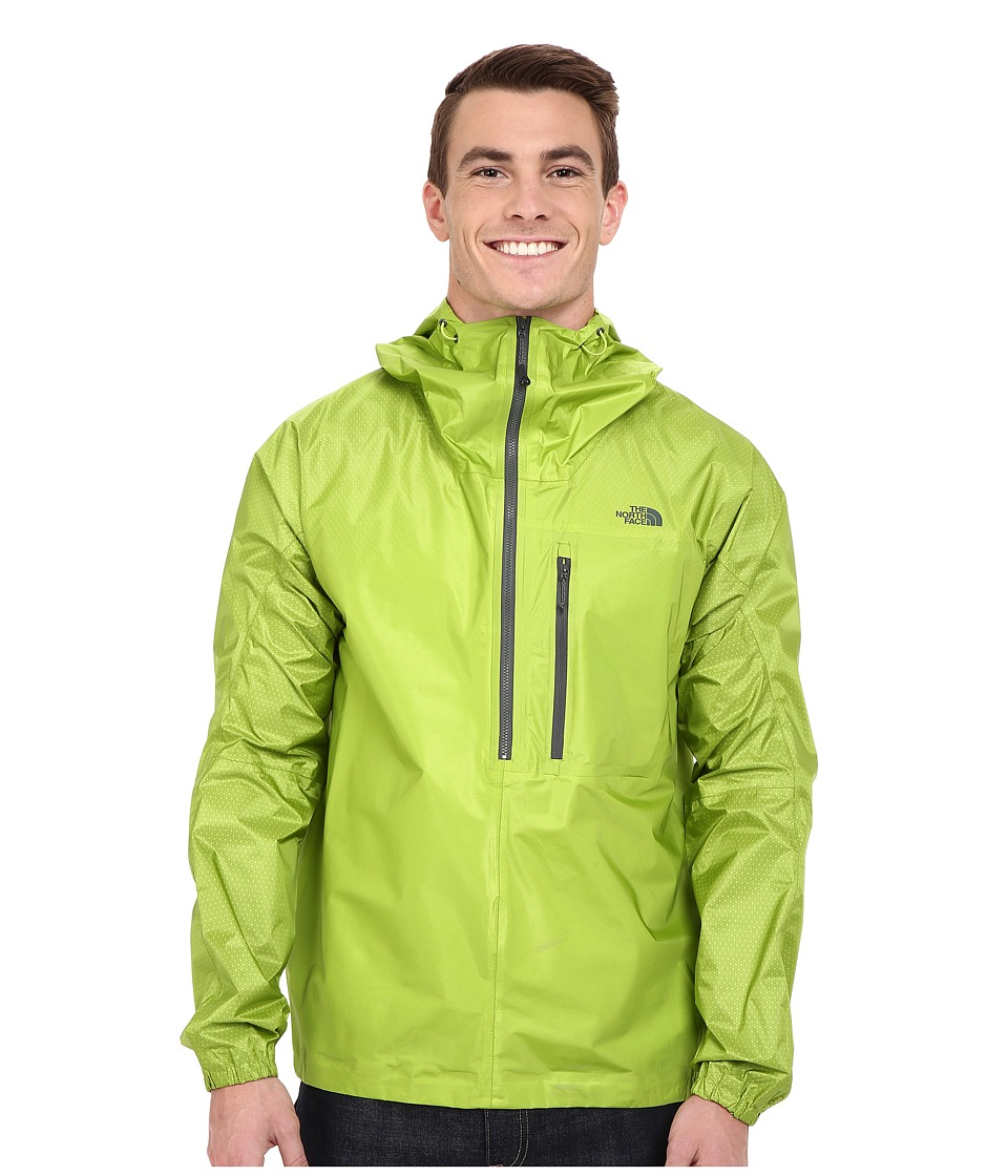 The North Face FuseForm Cesium Anorak Macaw Green Fuse Mens Coat