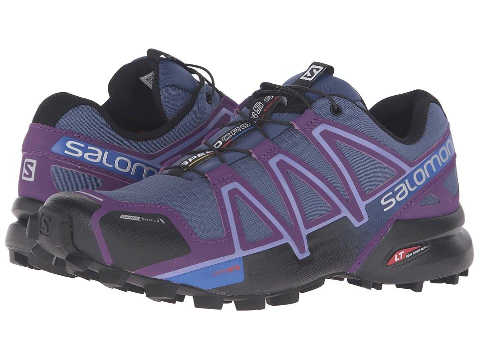 Salomon Speedcross 4 CS (Slateblue/Cosmic Purple/Black) Women