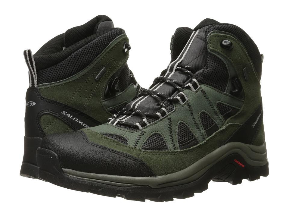 Salomon - Authentic LTR GTX (Asphalt/Night Forest/Aluminium) Men's Shoes