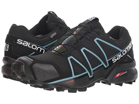 Salomon Speedcross 4 GTX - Black/Black/Metallic Bubble Blue