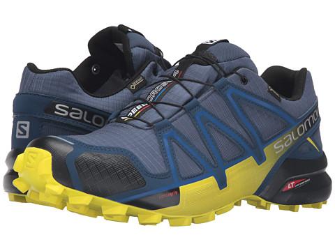 Salomon Speedcross 4 GTX - Slateblue/Blue Depth/Corona Yellow