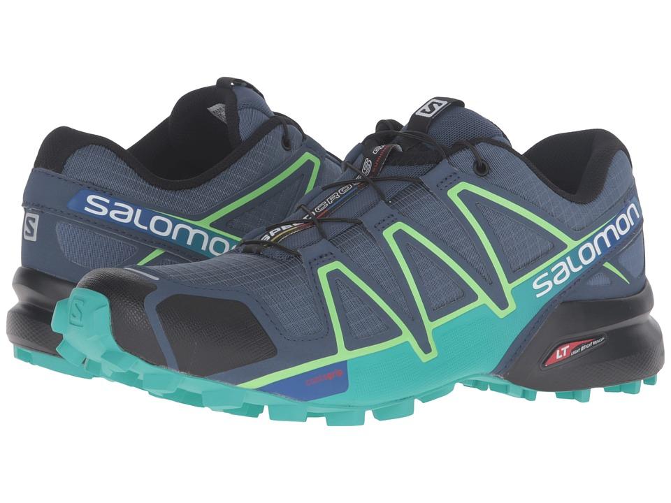 Salomon Speedcross 4 (Slateblue/Spa Blue/Fresh Green) Women