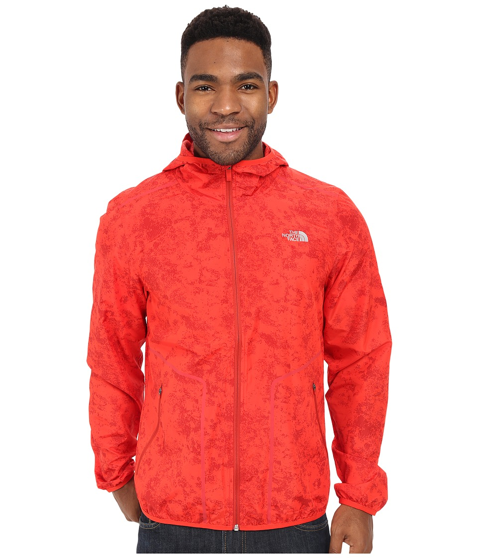 The North Face Ampere Wind Trainer Fiery Red Mens Coat