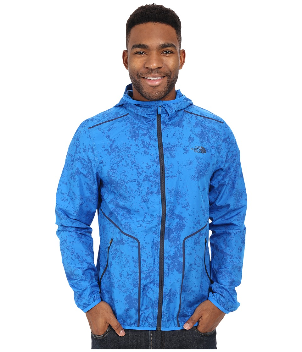 The North Face Ampere Wind Trainer Bomber Blue Mens Coat