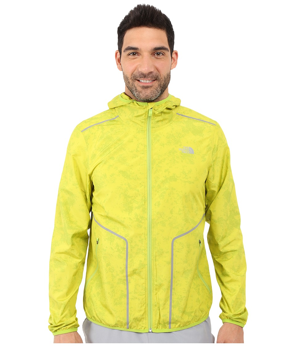 The North Face Ampere Wind Trainer Macaw Green Mens Coat
