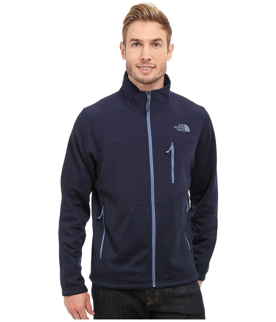 The North Face Norris Full Zip Cosmic Blue Heather/Cosmic Blue Mens Coat