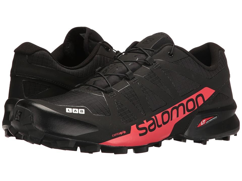 Salomon S-Lab Speedcross (Black/Racing Red) Athletic Shoes