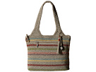 The Sak Casual Classics Large Tote (Voyager Stripe)
