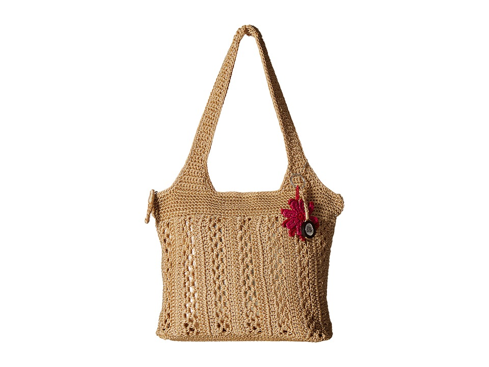 The Sak - Casual Classics Large Tote (Bamboo/Gold) Tote Handbags