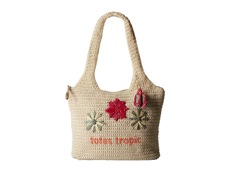 The Sak - Casual Classics Large Tote (Natural Tropic) Tote Handbags
