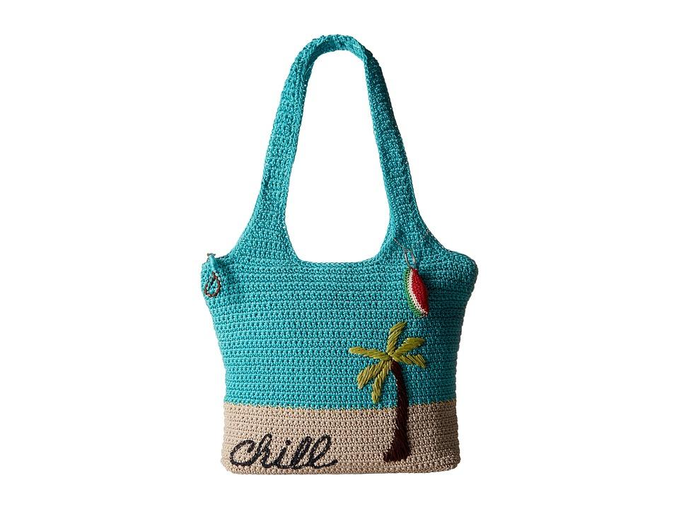 The Sak - Casual Classics Large Tote (Scuba Palm) Tote Handbags