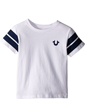 True Religion Kids - Varsity Paneled Tee Shirt (Toddler/Little Kids)