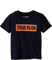 True Religion Kids - Box Stitch Tee Shirt (Toddler/Little Kids)