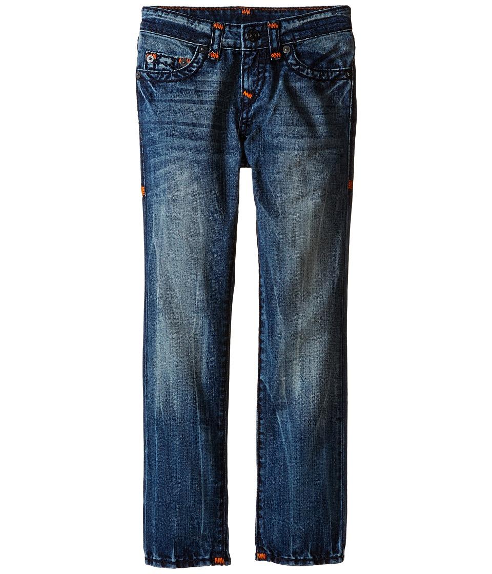 True Religion Kids Geno Super T Jeans in Blue Onyx Big Kids Blue Onyx Boys Jeans