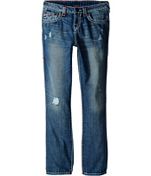 True Religion Kids - Geno Color Combo Super T Jeans in Engine Wash (Big Kids)