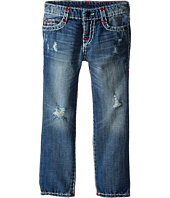True Religion Kids - Geno Color Combo Super T Jeans in Engine Wash (Toddler/Little Kids)