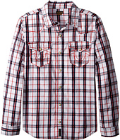 True Religion Kids - Plaid Woven Shirt (Big Kids)