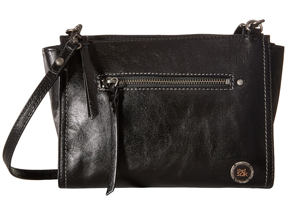 The Sak - Cabrillo Demi Crossbody (Black Onyx) Cross Body Handbags
