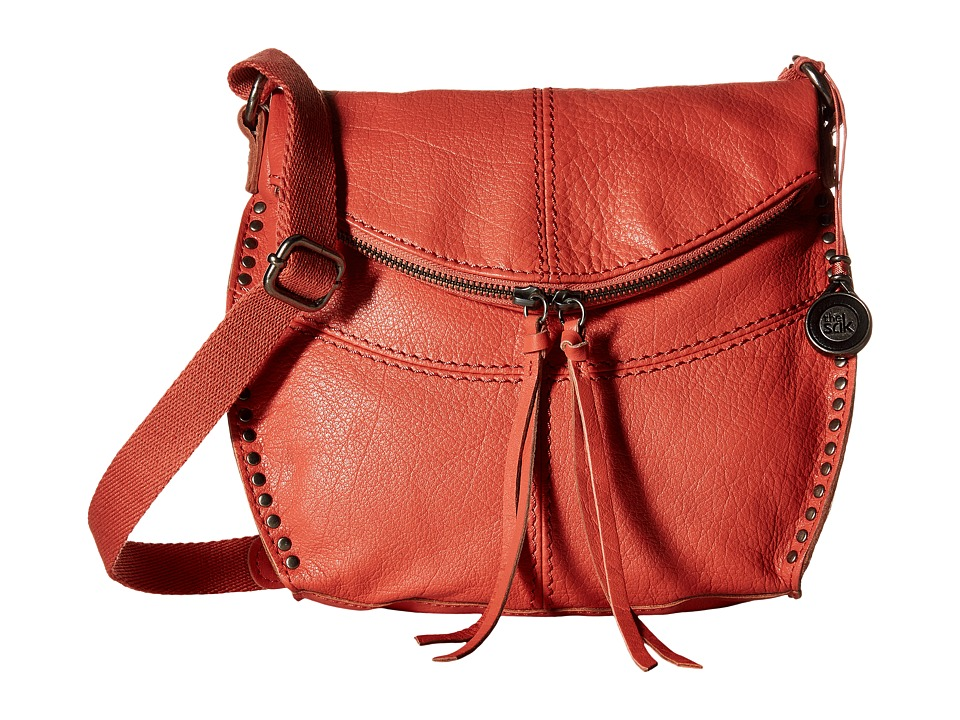 The Sak - Silverlake Crossbody (Guava) Cross Body Handbags