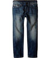True Religion Kids - Geno Single End Jeans in Beaten Blue (Toddler/Little Kids)