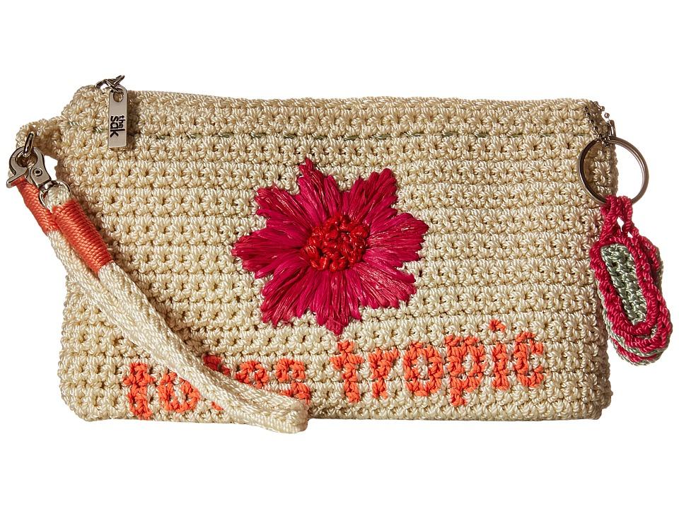 The Sak - Casual Classics Large Wristlet (Natural Tropic) Wristlet Handbags