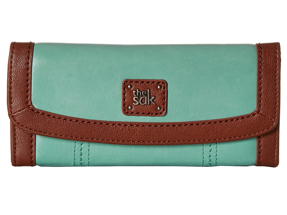 The Sak - Iris Flap Wallet (Seascape) Wallet Handbags