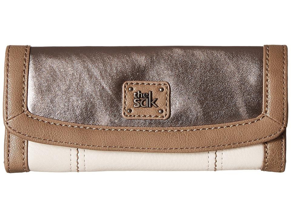 The Sak - Iris Flap Wallet (Cloud Sparkle Block) Wallet Handbags