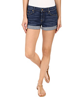 7 For All Mankind - Roll Up Shorts in Medium Timeless Blue