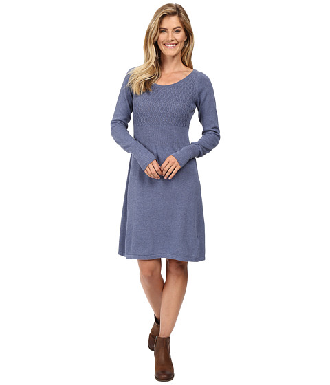 Prana - Zora Dress (Gray Indigo) Women's Dress