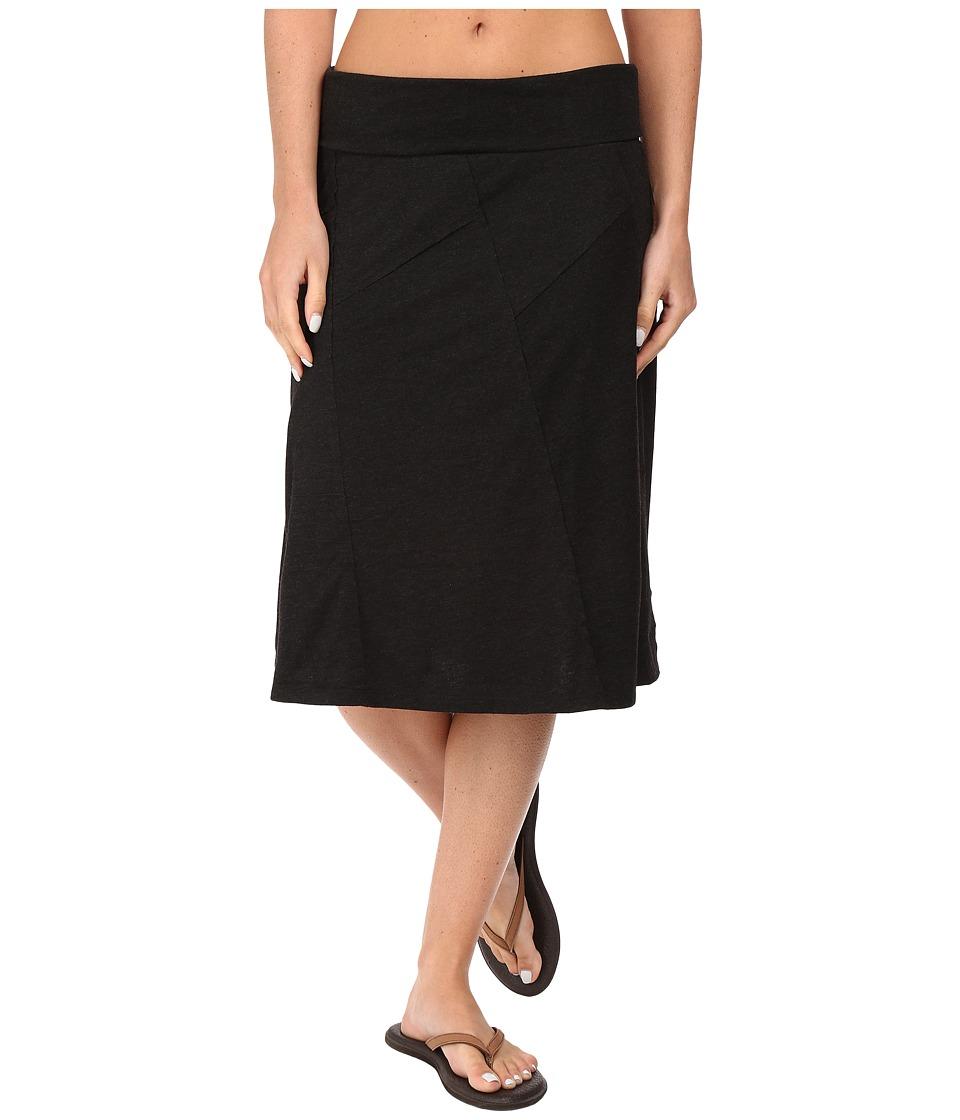 Prana Daphne Skirt (Black) Women