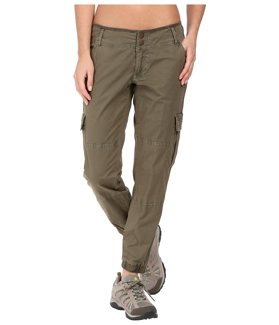 Prana Kadri Pants (Cargo Green) Women