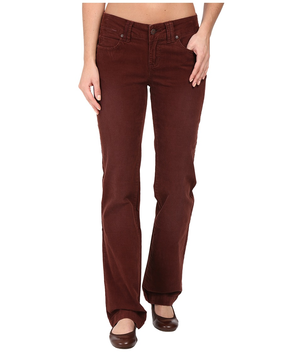 Prana - Crossing Corduroy Pants (Dark Umber) Women's Casual Pants