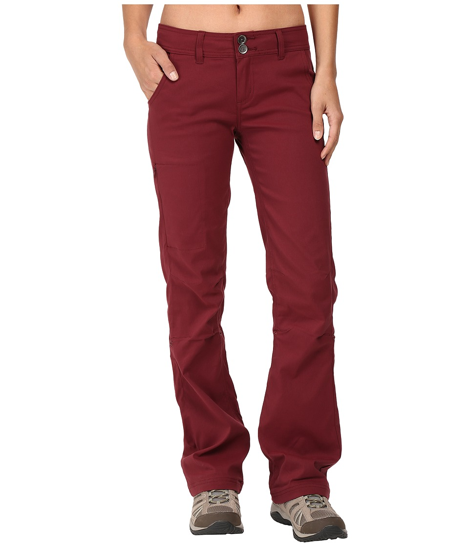 Prana - Halle Pant (Burgundy) Women's Casual Pants