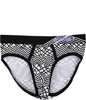 2(X)IST - Graphic Cotton No Show Brief