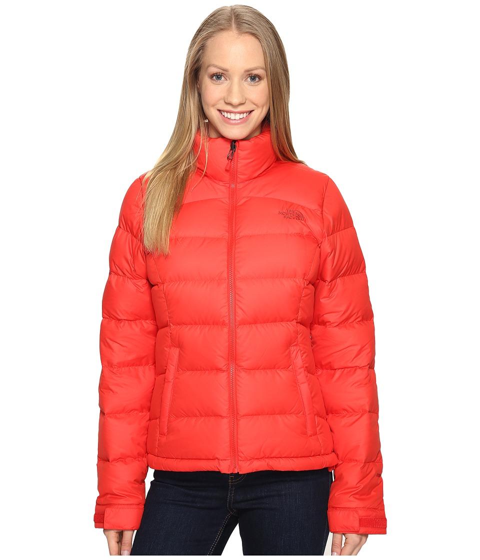 The North Face - Nuptse 2 Jacket (High Risk Red (Prior Season)) Womens Coat