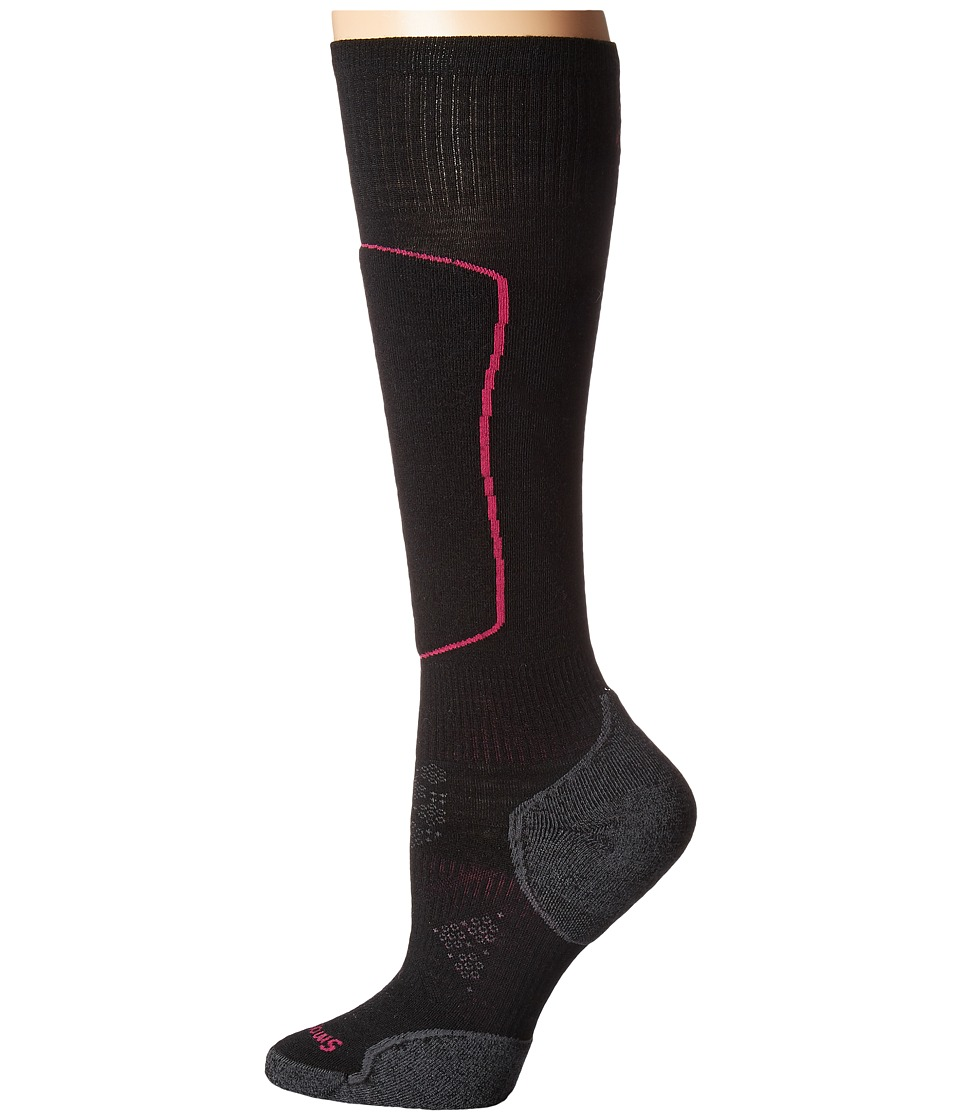 Smartwool PhD Ski Light Elite (Black) Women's Knee High S...