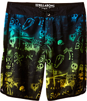 Billabong Kids - Bad Billys Scallop Boardshorts (Big Kids)