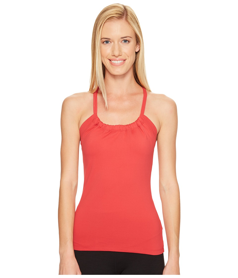 Prana Quinn Chakara Top (Sunwashed Red) Women
