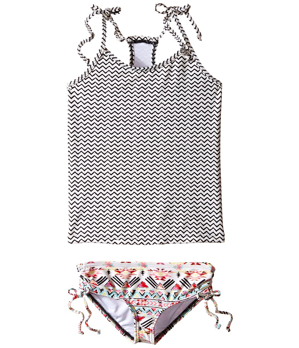 Billabong Kids Gee Gee Geo Tankini Set Little Kids/Big Kids Multi Girls Swimwear Sets